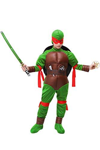 Rubies 3 886812 Costume da tartaruga Ninja per bambini S Taglia