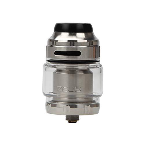 GeekVape Zeus X RTA 4.5ml Capacidad del tanque de apoyo de la bobina de la construcción de la bobina simple/doble E-cig Vape Tanque con 810 Delrin punta de goteo atomizador de cigarrillos electrónicos