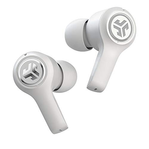 JLab Audio JBuds Air Executive True Wireless Bluetooth Earbuds + Charging Case - White - C3 Calling with Dual Microphones - Long Travel Playtime - Bluetooth 5.0 Connection - 3 EQ Sound Settings…