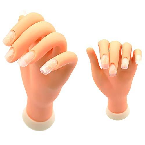 1pc Nail Art Pratique Kit Ongles Entraînement Pratiquante Main Disponibilité Manucure Mannequin Mannequin Main Faux Faux Mannequin Mains Pour Manucure À Ongles (main Gauche)