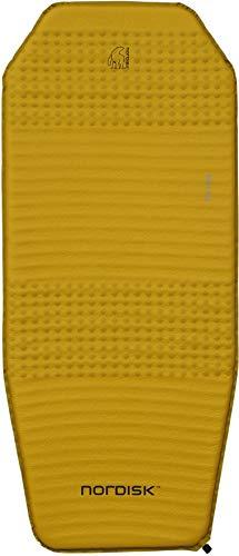 Nordisk Ven 2.5 halblange Isomatte Isomatte, Mustard Yellow/Black
