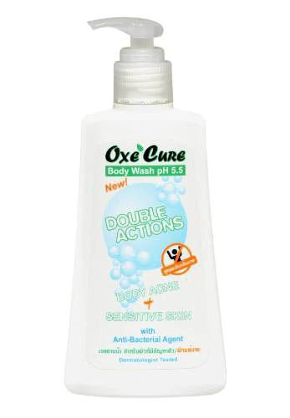 Oxe'cure Body Wash Anti-acne & Blemishes Control for Back Chest Neck Arms 150 Ml Best Product From Thaialnd