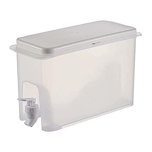 Dispensador de bebidas heladas de 3,5 l, botella de jugo para nevera, dispensador de agua potable, recipiente para bebidas con grifo