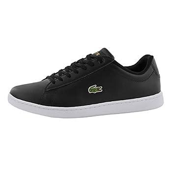 Lacoste Women s Hydez Sneaker Blk/Gld 6