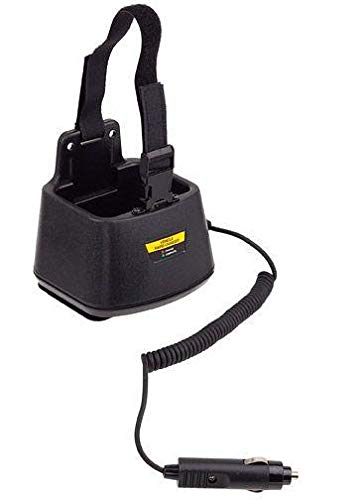 Charger for Yaesu-Vertex VX-537 Single Bay in-Vehicle Rapid Charger
