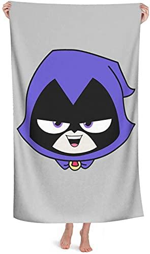 Teen Titans Go - Toalla de playa grande y de secado rápido (Go6, 80 cm x 135 cm)