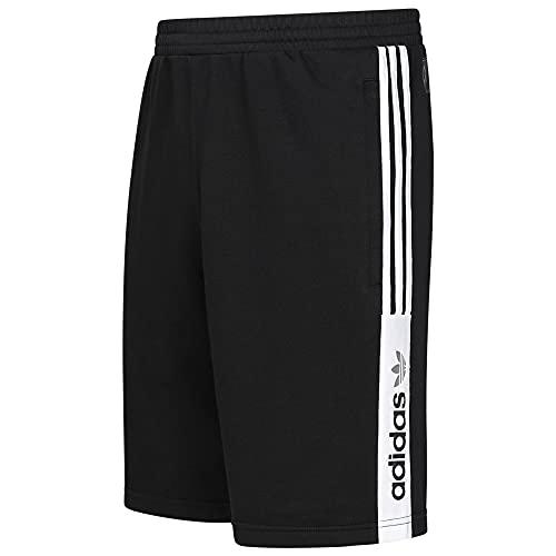 adidas Originals Pantalones Cortos Trefoil Fleece Nutasca ZX Shorts Negro GL7812 Nuevo, Negro, 42