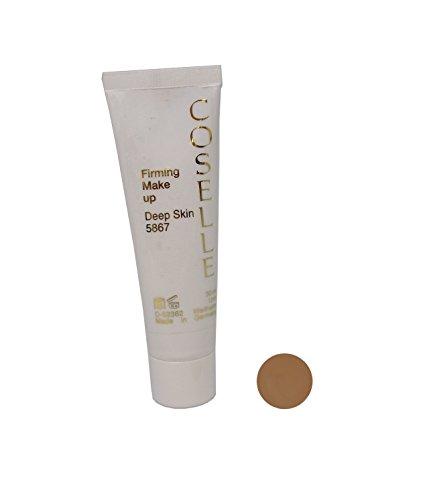 Coselle Firming Make-up, feuchtigkeitsspendendes und geschmeidig leichtes Make-up mit lichtreflektierenden Mikropigmenten und Q10. Höchste Qualität, ohne Tierversuche, Made in Germay!
