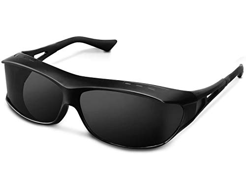 TINHAO Polarized Sunglasses - Wear Over Prescription Glasses for Sports Driving&Fishing