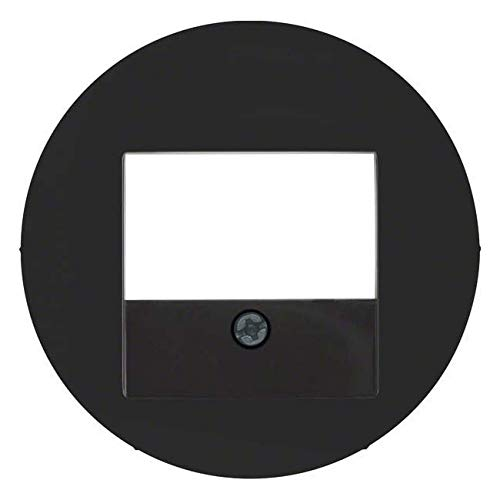 Hager 10382045 - Tae Rclassic Deckel schwarz glänzend
