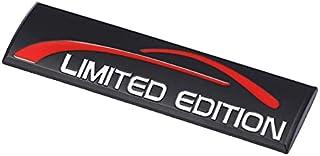 LPL 1 unids 3D Metal Coche Pegatinas EDICIÓN Limitada Emblem Badge Side Trasero Compatible con BMW Honda Nissan Skoda Jeep...
