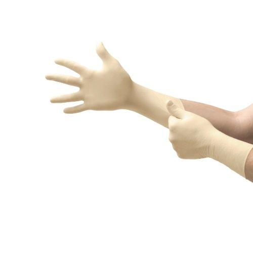 Ansell 93-401-M Nitrilite Clean Nitrile Gloves, Class 10 (ISO 4), Capacity, Volume, Nitrile, Medium, White (00)