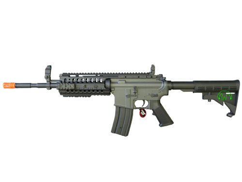 JG 2010 Version 432 FPS M4 S-System Metal Gear Electric Airsoft AEG