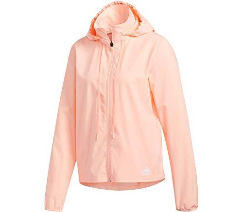 adidas LW Woven Jacke Chaqueta para Mujer, Blanco/Negro, Medium