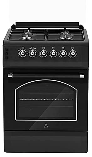 ALPHA Cocina de Gas Vulcano SILVER-50 Rustica. Encendido automático. **Alta Gama**