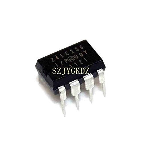 10 STÜCKE 24lc256 eeprom Serial-i2c 256 kbit 32 kx 8 3,3 v 5 v 8-pin Pdip Ic 24lc256-ip