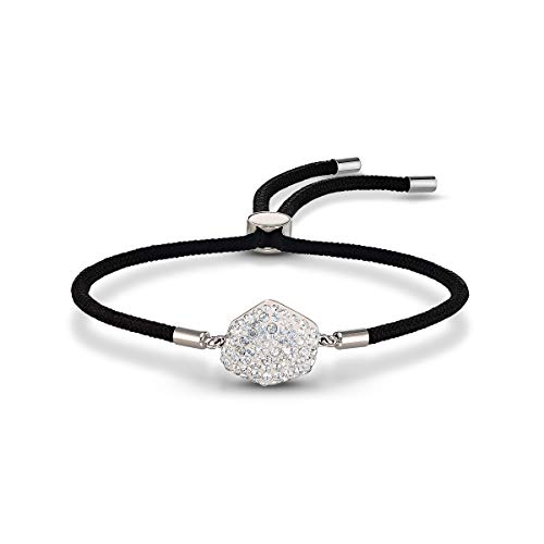 Swarovski Power Air Element Armband, Kordelarmband mit Klaren Swarovski Kristallen