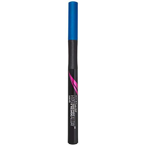 Maybelline New York Eyeliner, Hyper Precise Allday Liner, Wisch- und wasserfest, Nr. 760 Saphire Blue