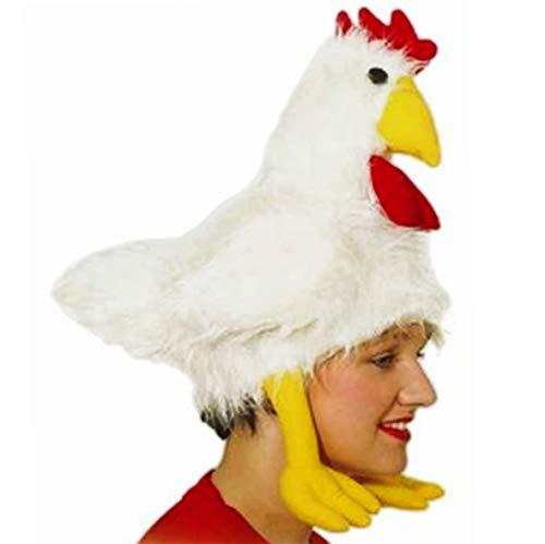 Mütze: Tiermütze, Huhn