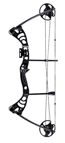 Leader Accessories Compound Bow 30-55lbs 19' - 29' Archery Hunting Equipment with Max Speed 296fps...