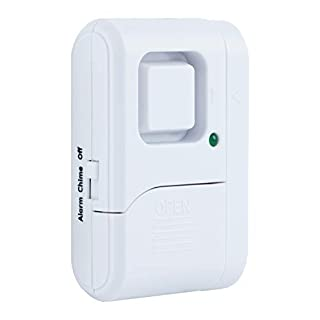 Apartment /& Dorm Bedroom Lewis N Clark Travel Door Alarm Window Guard Portable Home Security System Battery Operated for Hotel with Built in LED Flashlight