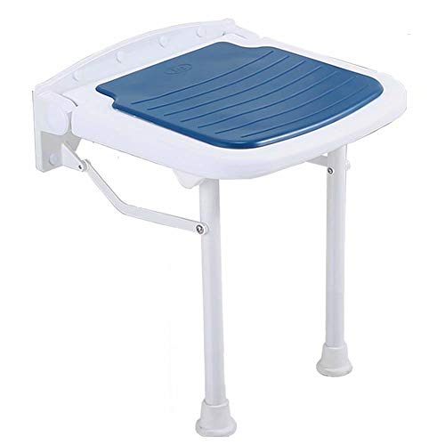 Best Prices! AIAIⓇ Foldable Shower Stool - Swivel Height Adjustable Non Slip Support Durable Stabi...