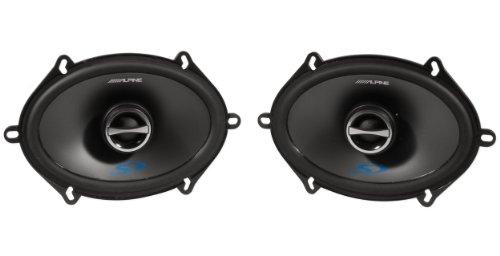 Alpine Sps-517 5 x 7 Inch 2 Way Pair of Car Speakers...