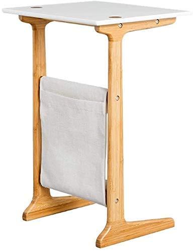 Computer-Schreibtisch Bambus Computer-Schreibtisch-bewegliches Wohnzimmer Schlafzimmer Nachttisch Sofa Kaffee Snack Kaffeetisch Gesundheits- und Umweltschutzamt Freizeit Tabelle - Mit Aufbewahrungstas
