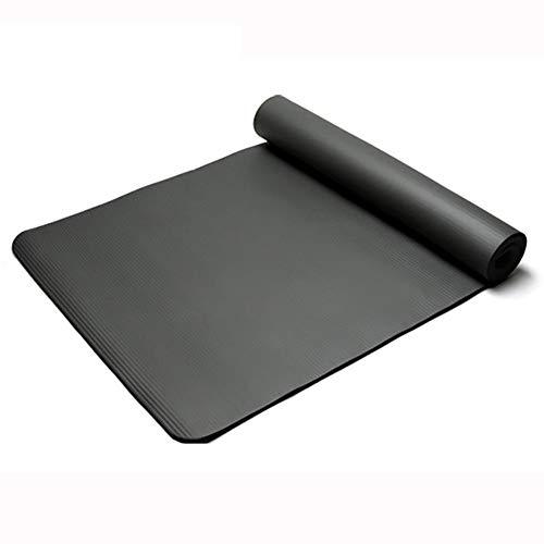 YHDNCG Esterillas de yoga, 1 cm NBR Yoga Mat,Estera antideslizante para principiantes femeninos,Esteras de ejercicio de fitness adelgazantes ecológicas,Alfombra portátil de danza
