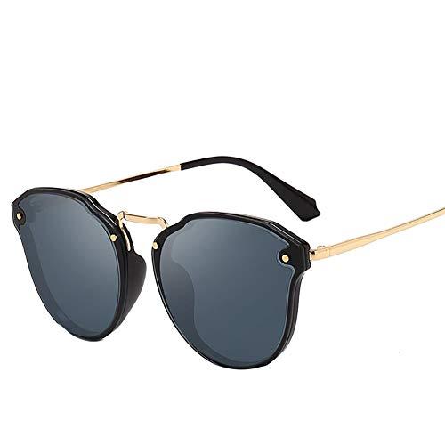 Mosako - Gafas de sol de moda con montura de metal para hombres y mujeres
