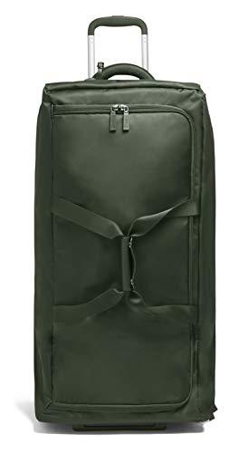 Lipault - 0% Pliable Foldable Wheeled Duffel Bag 78/29-30' Luggage for Women - Khaki