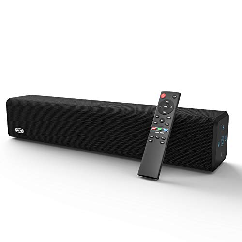 BESTISAN Sound Bar with Bluetooth 5.0