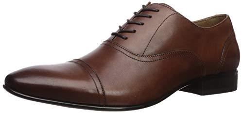 ALDO Herren Nalessi Oxford Kleid Schuhe Uniform, Braun (Cognac), 47 EU