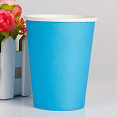 Landingstar Elegant Party Wegwerp Bekers, Papier Bekers voor doe-het-zelf, Bruiloft & Feestbekers 8oz voor Thuisdecoratie