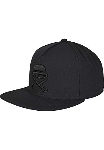 Cayler & Sons Unisex-Adult Snapback PA ICON Black White, Size:ONE Size Cap, blk/wht, Einheitsgröße