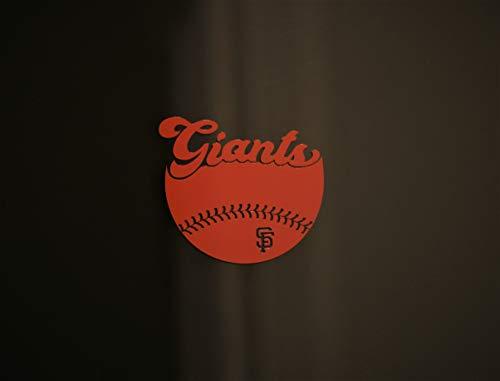 San Francisco Giants Inspired Concept Series 'SF' Custom Design Die-Cut 4