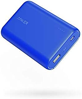 Anker PowerCore 10000 Portable Charger, One of The Smallest and Lightest 10000mAh Power Bank, Ultra-Compact External Batteries, High-Speed Charging Power Bank for iPhone, Samsung Galaxy and More