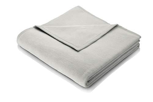 biederlack Wohndecke Cotton Home 11 | Silber - 150 x 200
