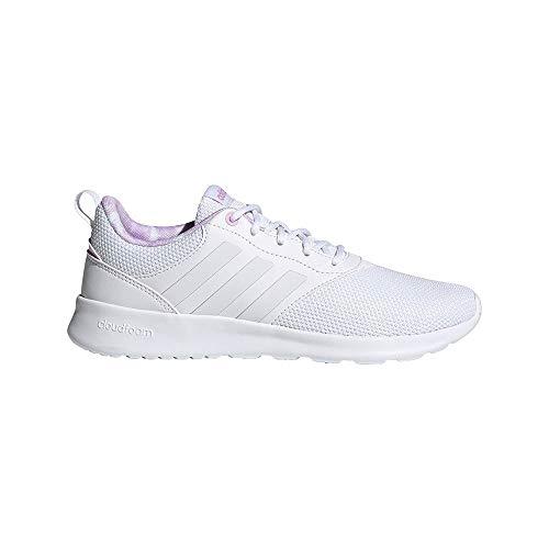 adidas QT Racer 2.0, Zapatillas de Running Mujer, FTWBLA/FTWBLA/LILCLA, 36 2/3 EU
