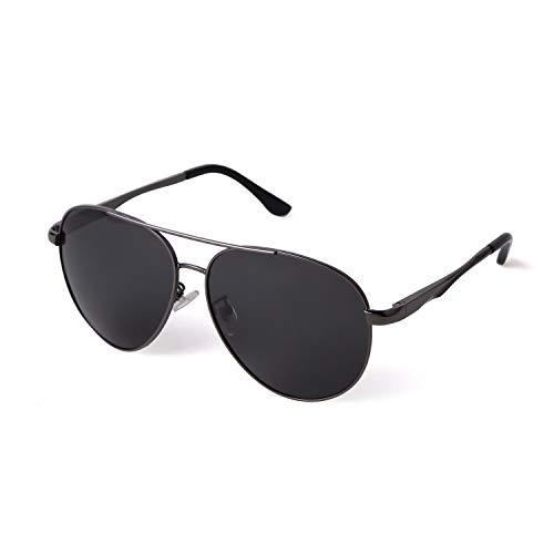 ADE WU Gafas de sol Gafas de Aviador Gafas de sol Polarizadas Gafas de Ciclismo con Protección UV400 para Mujeres Hombres