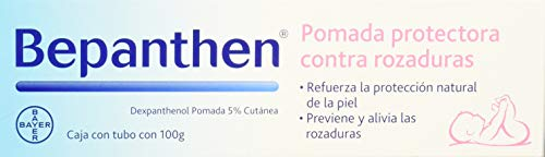 Bepanthen - Pomada protectora contra rozaduras, 100 g