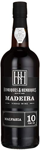 Henriques & Henriques Madeira Malmsey 10 Jahre gereift Rotwein 0.75 l