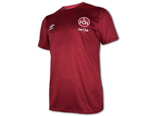 Umbro 1. FC Nürnberg Training Jersey Der Club Fan Shirt FCN Trikot Bundesliga, Größe:M