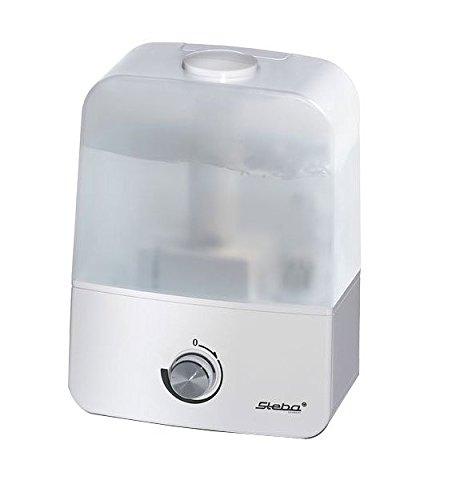 Steba Luftbefeuchter LB 9   Ultraschallvernebelung min. 250 ml/h bis max. 400 ml/h   stunfenlose Geschwindigkeitsregelung   Ökostufe 30 W   inklusive Keramikfilter   3,5 Liter Wassertank