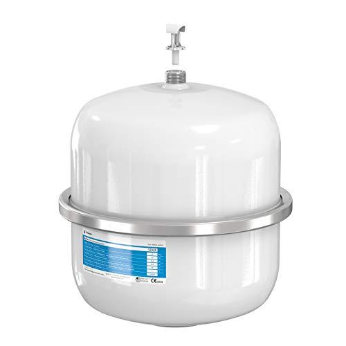 Flamco 24259 Airfix Vaso de Expansión para Instalaciones de Agua Potable, Blanco, 8 Litros, 4 Bares