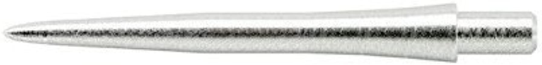 1 x SET TARGET STORM DART POINTS 26mm SILVER SMOOTH