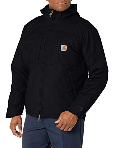 Carhartt Herren Full Swing Cryder Jacket Arbeitsoberkleidung, schwarz, Large