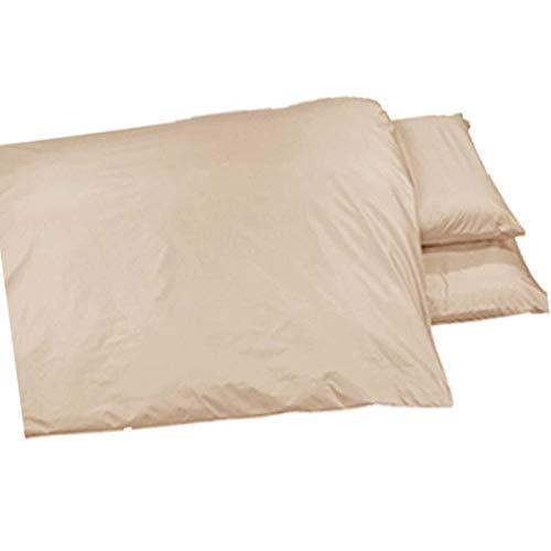 お昼寝布団カバー 90×160 cm 90 160 サイズオーダー 保育園 ホック 柄番アルファソフト ベージュ