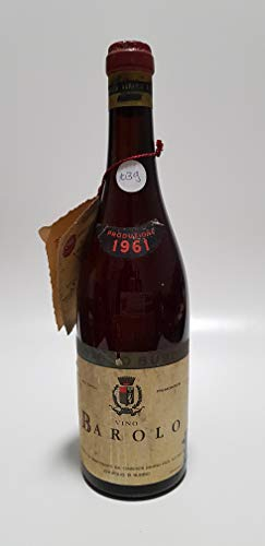 Vintage Bottle - Enopolio di Bubbio Clear Color Barolo 1961 0,75 lt. - COD. 1039