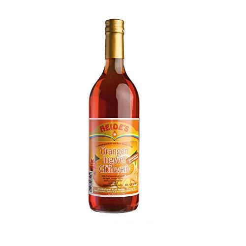 Orange-Ingwer-Glühwein - 4,8% Alc, 6 x 750ml-Flasche - pfandfrei -